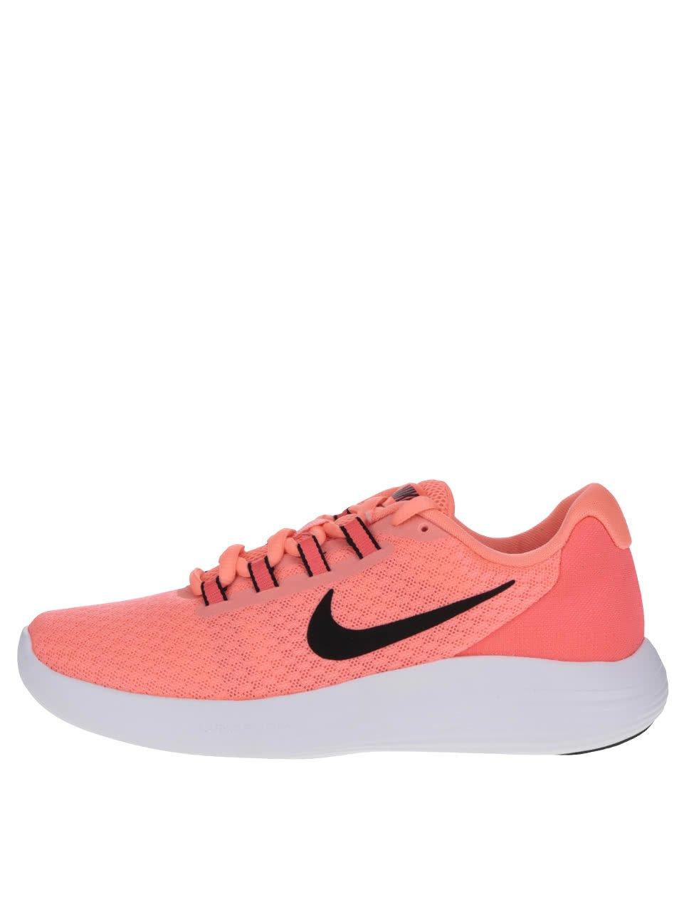 Růžové dámské tenisky Nike Lunar Converge