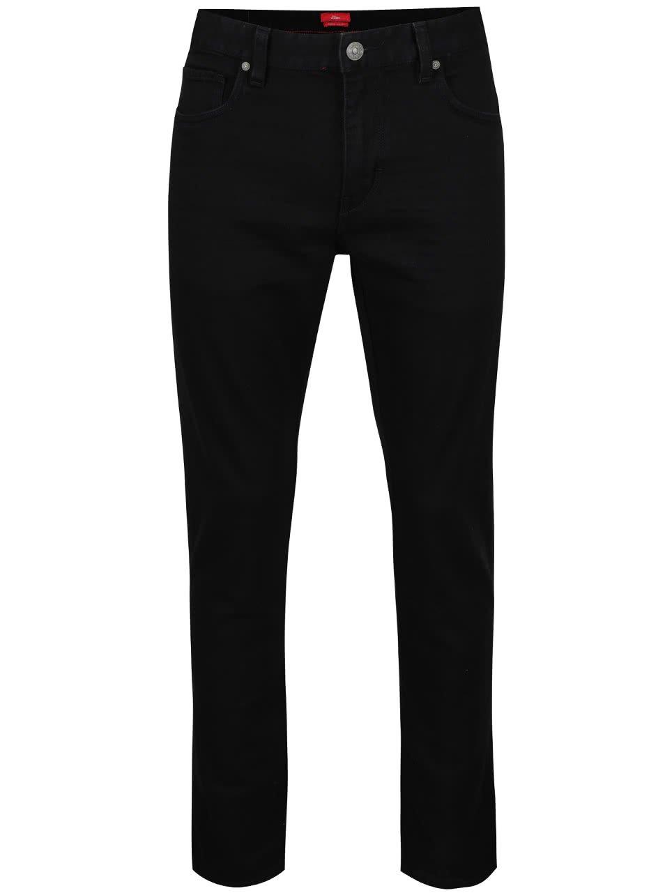 Černé pánské slim džíny s.Oliver