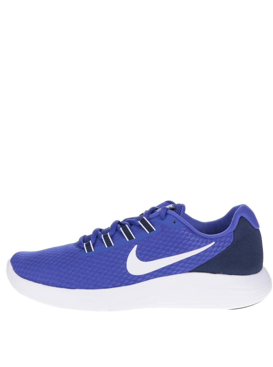Modré pánské tenisky Nike Lunar Converge