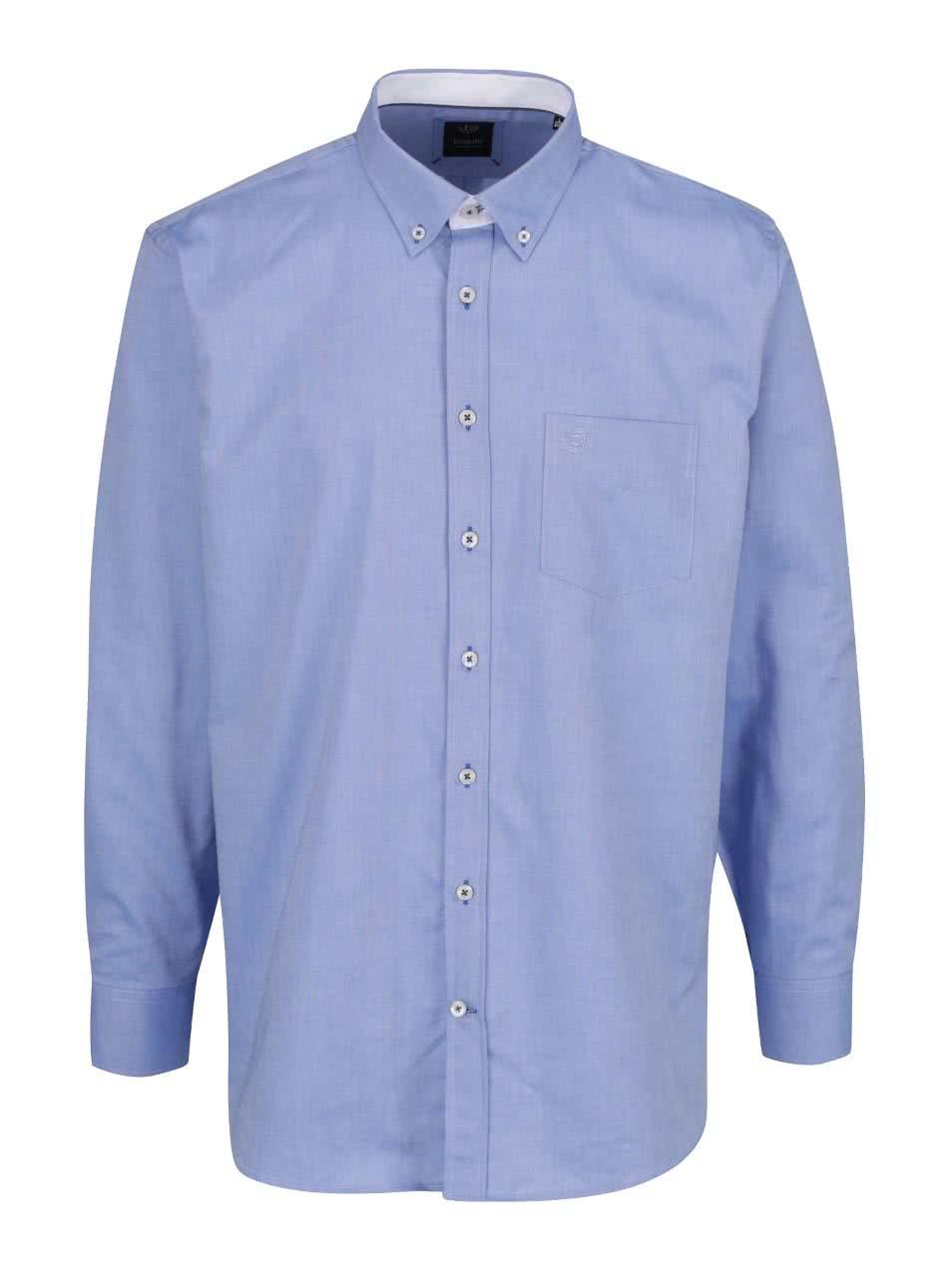 Světle modrá pánská košile bugatti