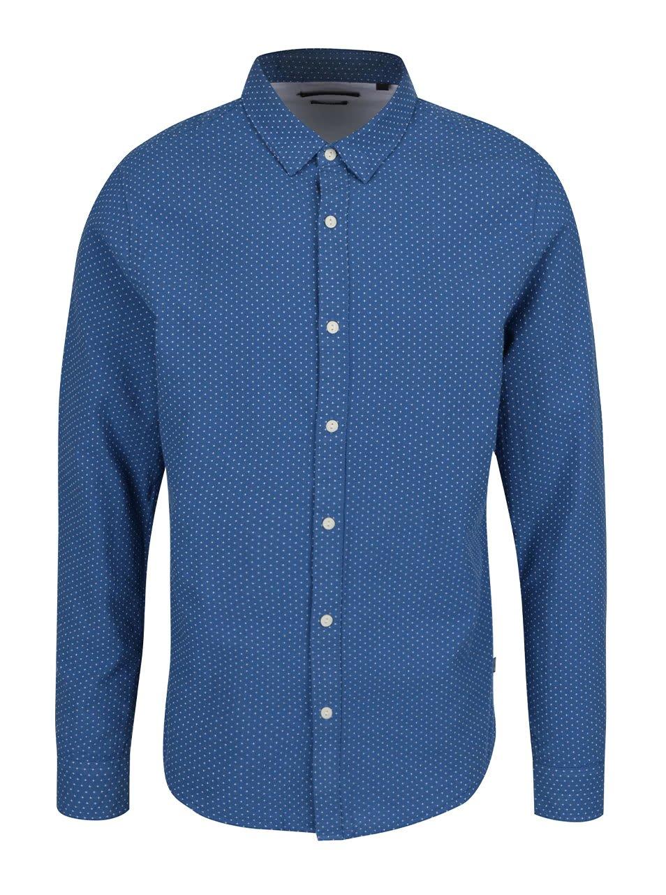 Modrá slim fit košile ONLY & SONS Conraad