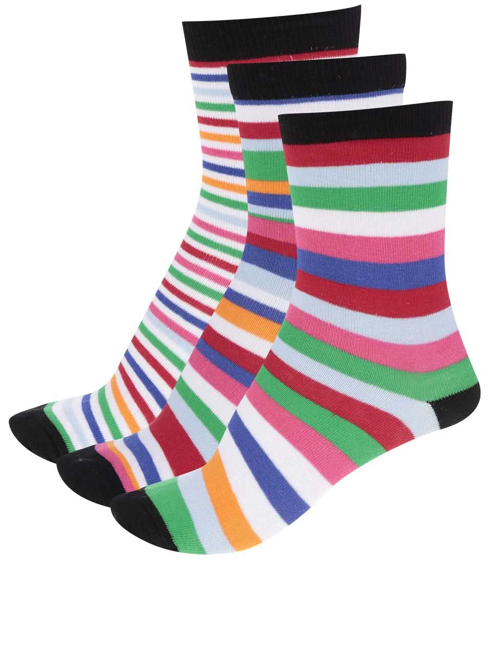 Sada tří barevných klučičích ponožek Oddsocks Boys9