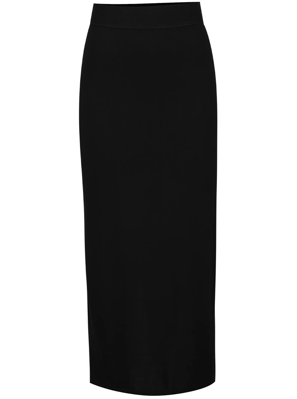 Černá dlouhá sukně Dorothy Perkins