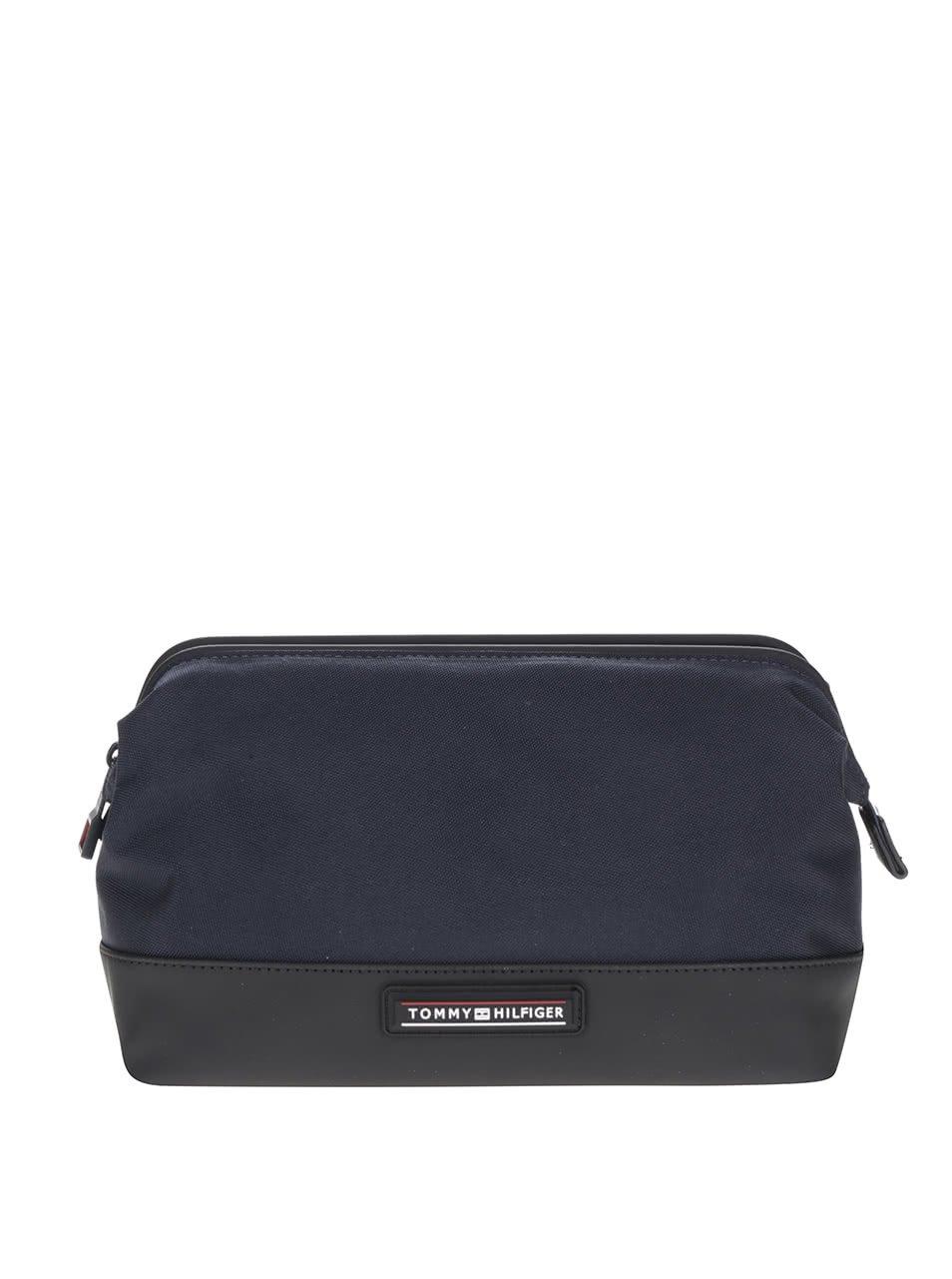Modro-černá pánská kosmetická taška Tommy Hilfiger