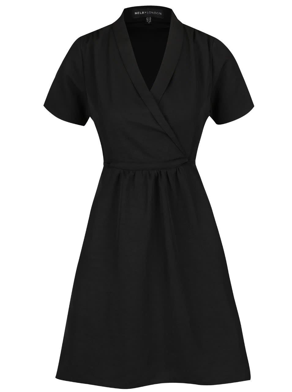 Černé šaty Mela London