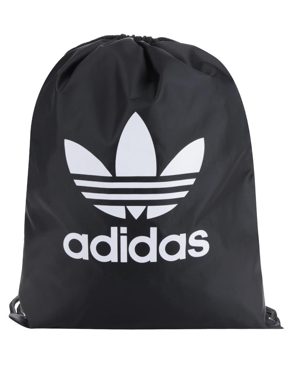 Černý unisex vak s logem adidas Originals Trefoil