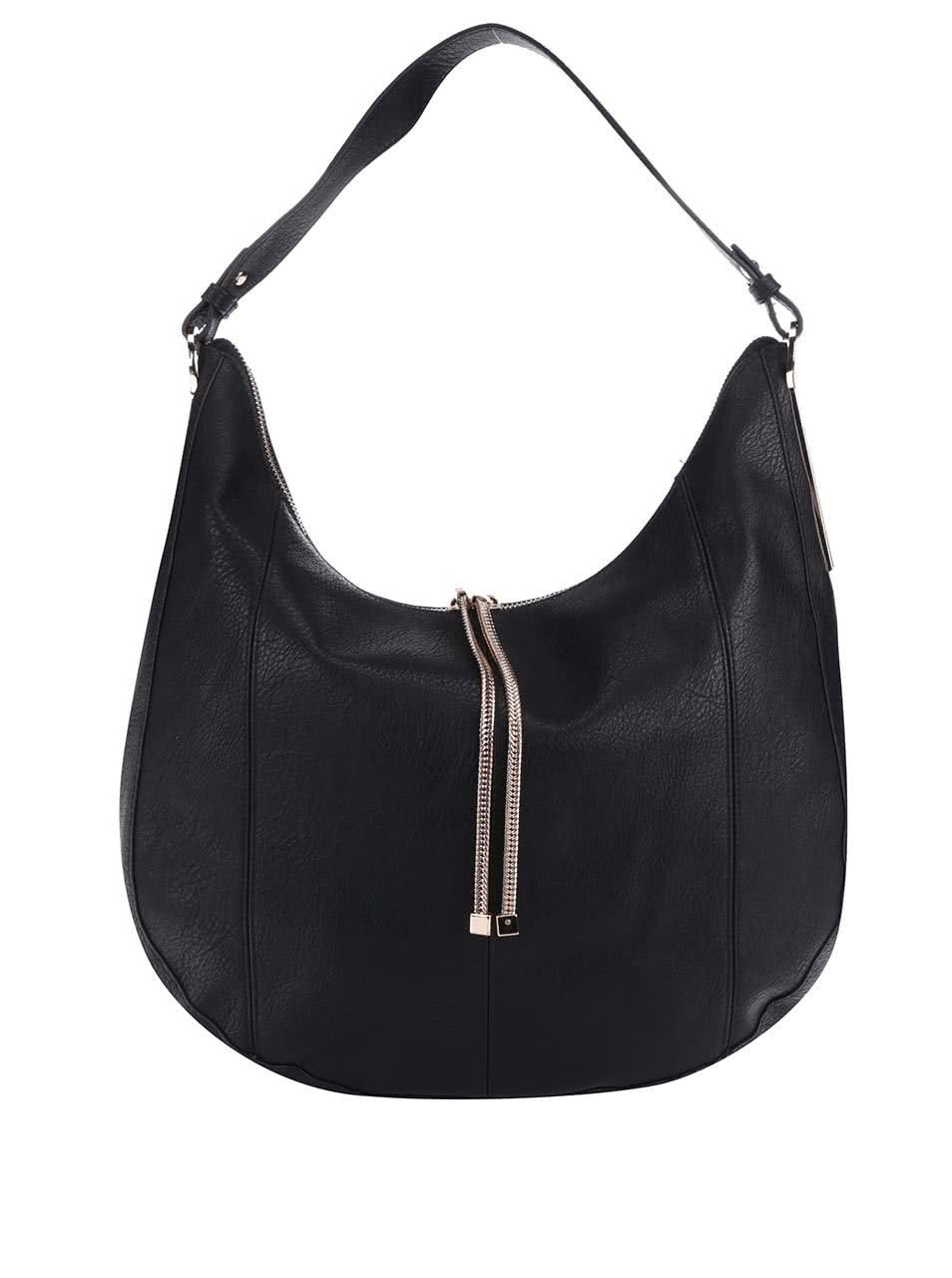 Černá kabelka do ruky M&Co