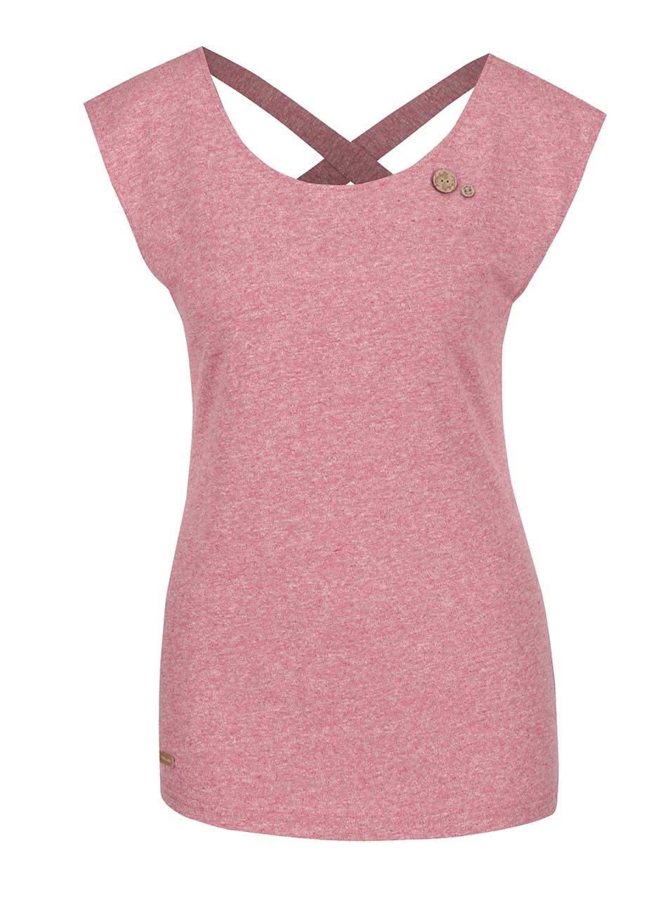 Červené dámské tričko Ragwear Sofia