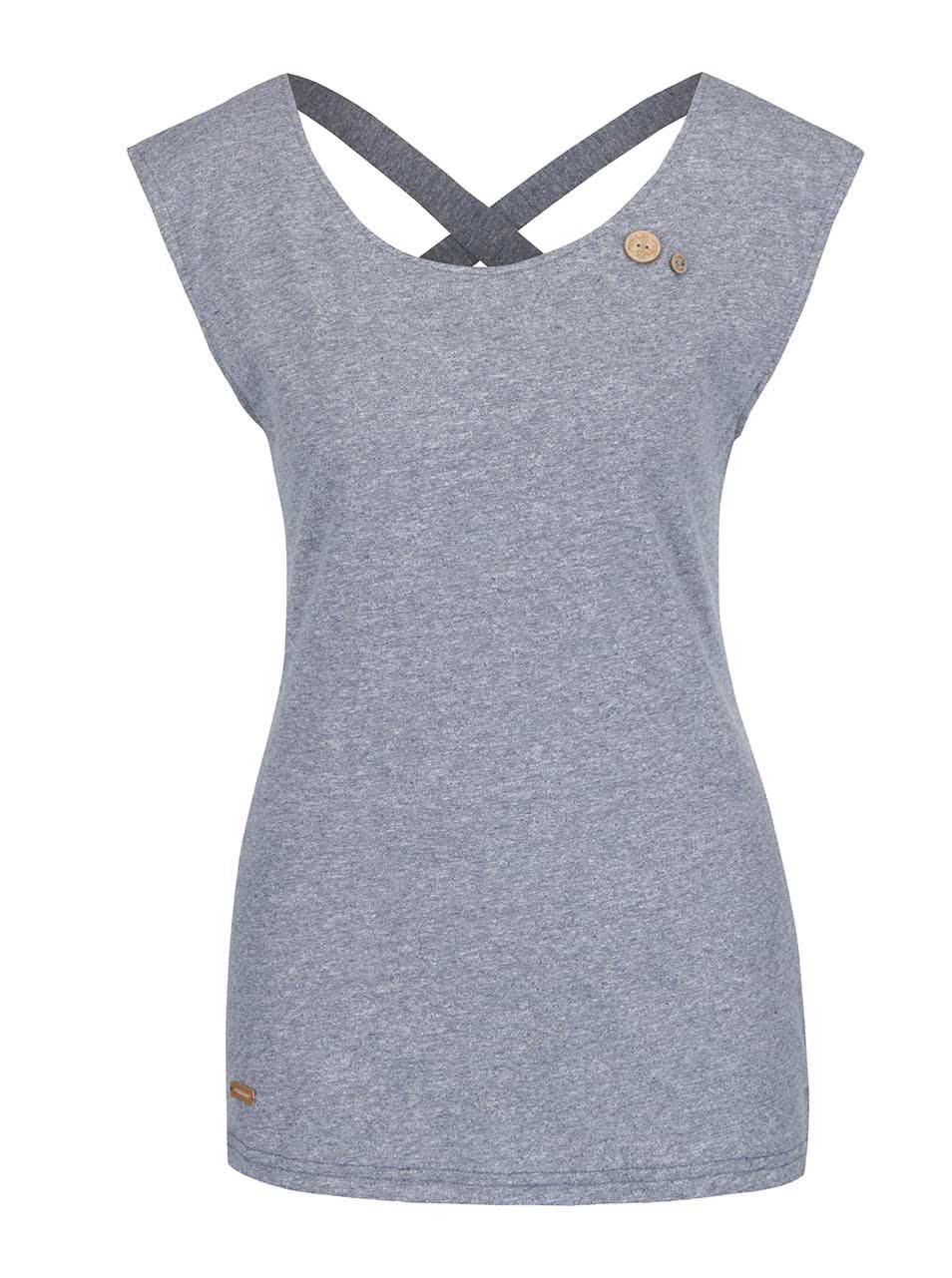 Modré dámské tričko Ragwear Sofia