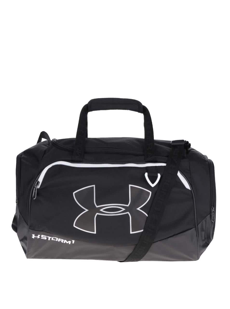 Černá pánská sportovní voděodolná taška 41 l Under Armour Duffel II.