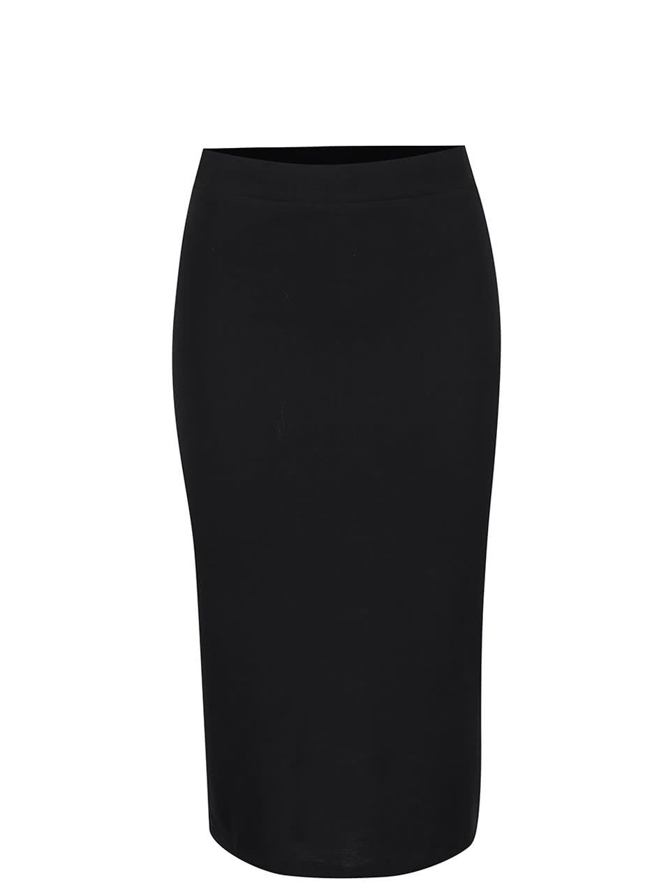 Černá sukně Vero Moda Nanna