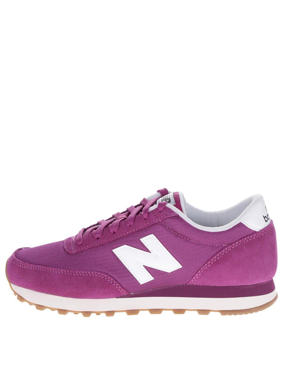 Tmavě růžové dámské tenisky New Balance