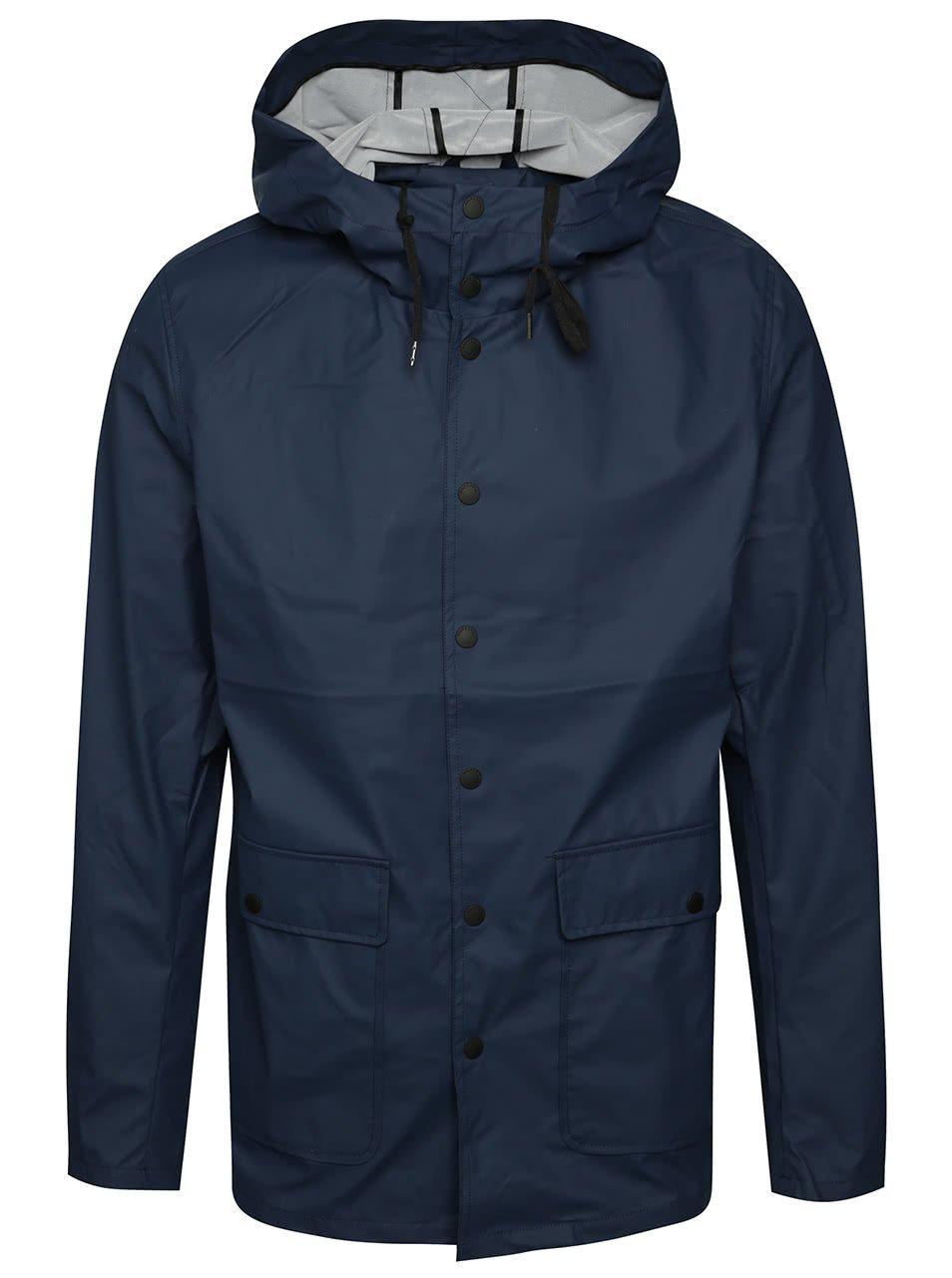 Modrá nepromokavá bunda ONLY & SONS Berzan