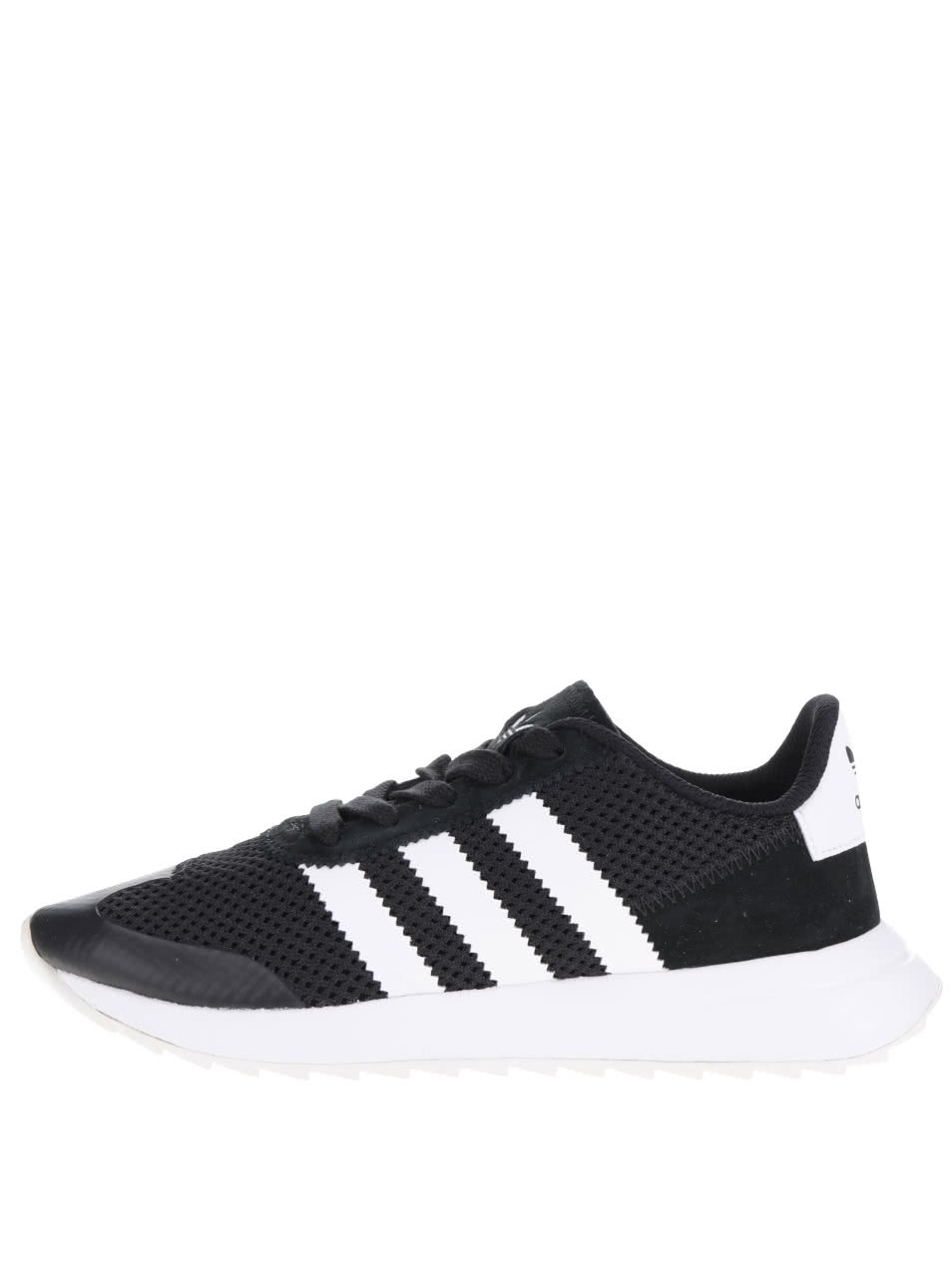 Bílo-černé dámské tenisky adidas Originals Flashback