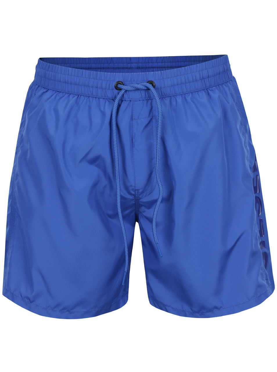 Modré pánské plavky s kapsou Diesel