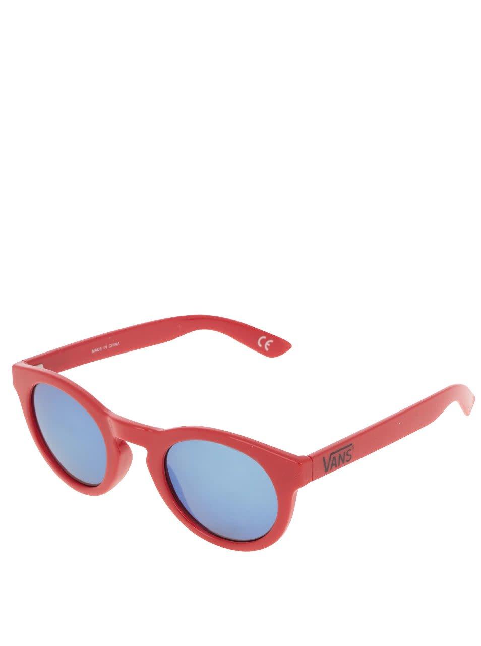 Červené dámské sluneční brýle Vans Lolligagger