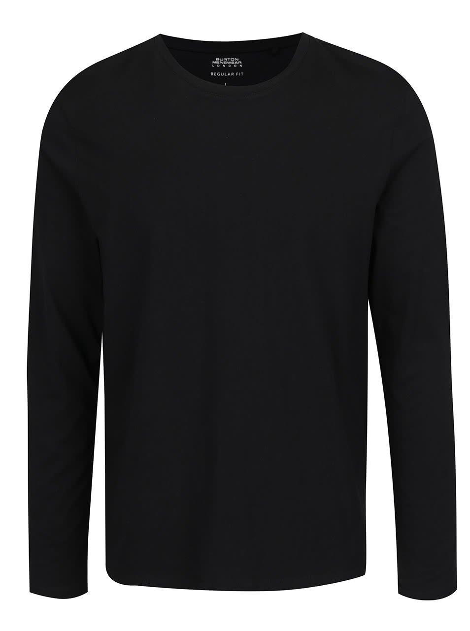 Černé pánské basic triko Burton Menswear London