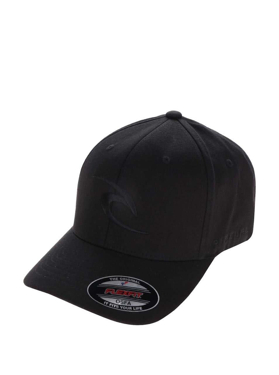 Černá pánská kšiltovka s logem Rip Curl Tepan Curve