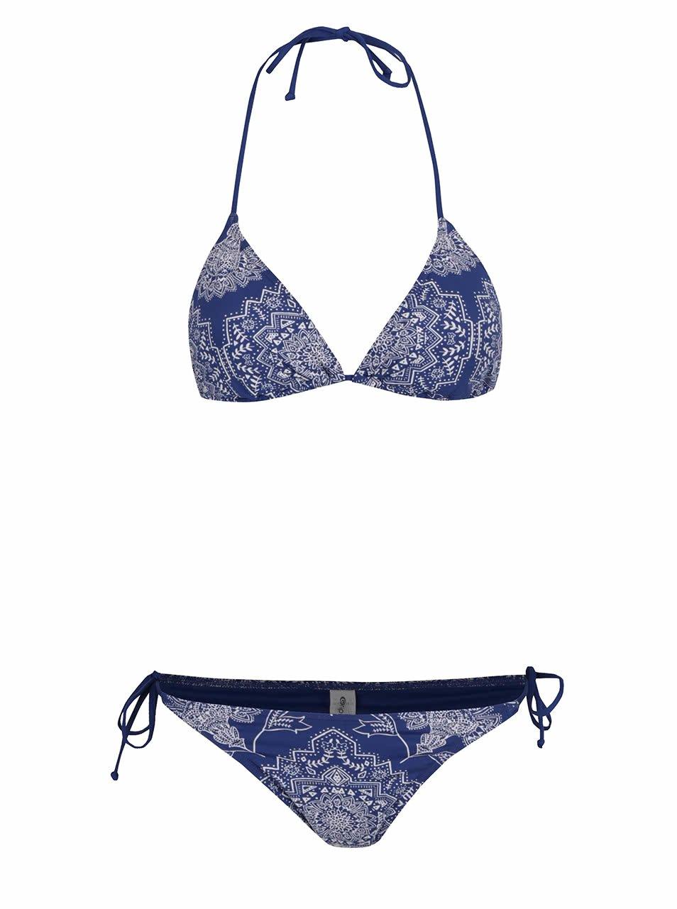 Tmavě modré dámské dvojdílné plavky Rip Curl Linda