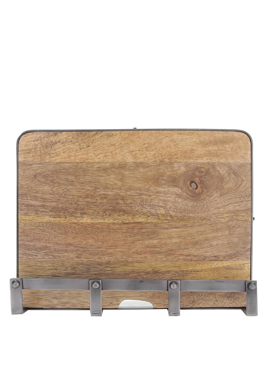 Dřevěný stojan na tablet Kitchen Craft