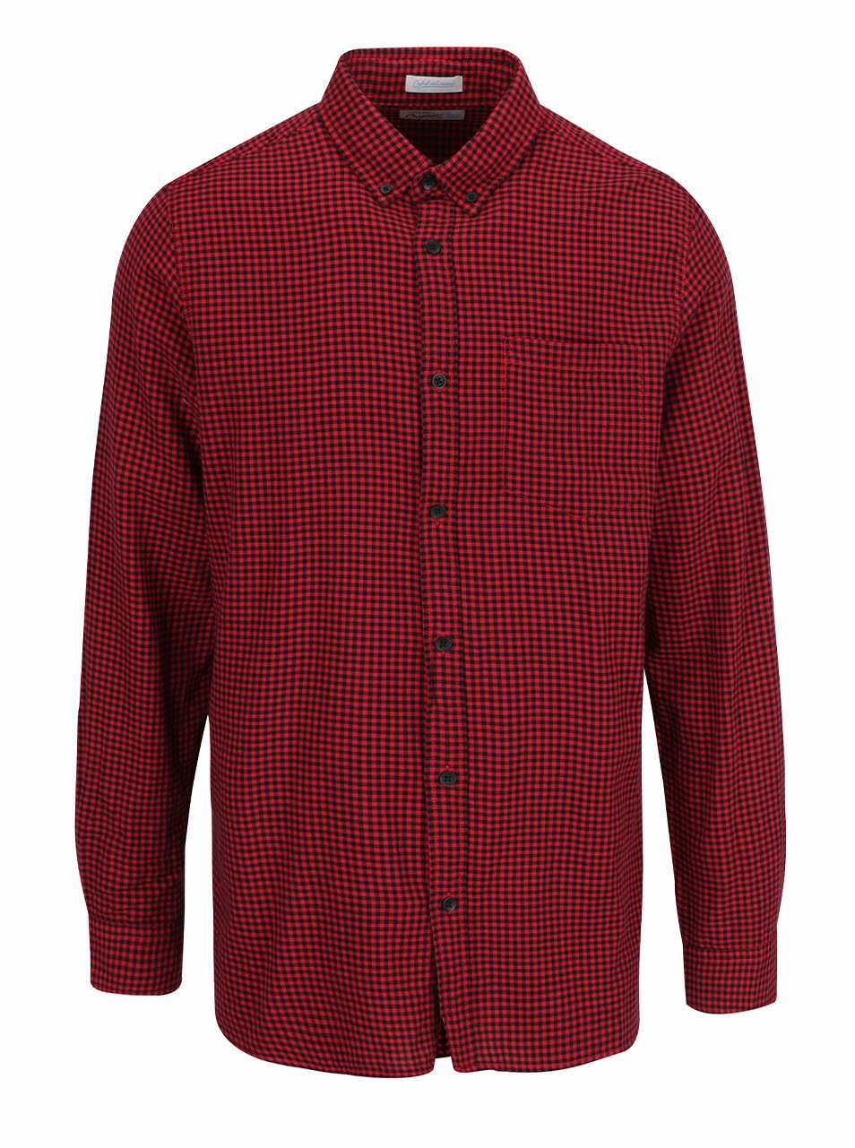Červená kostkovaná košile Jack & Jones Johan