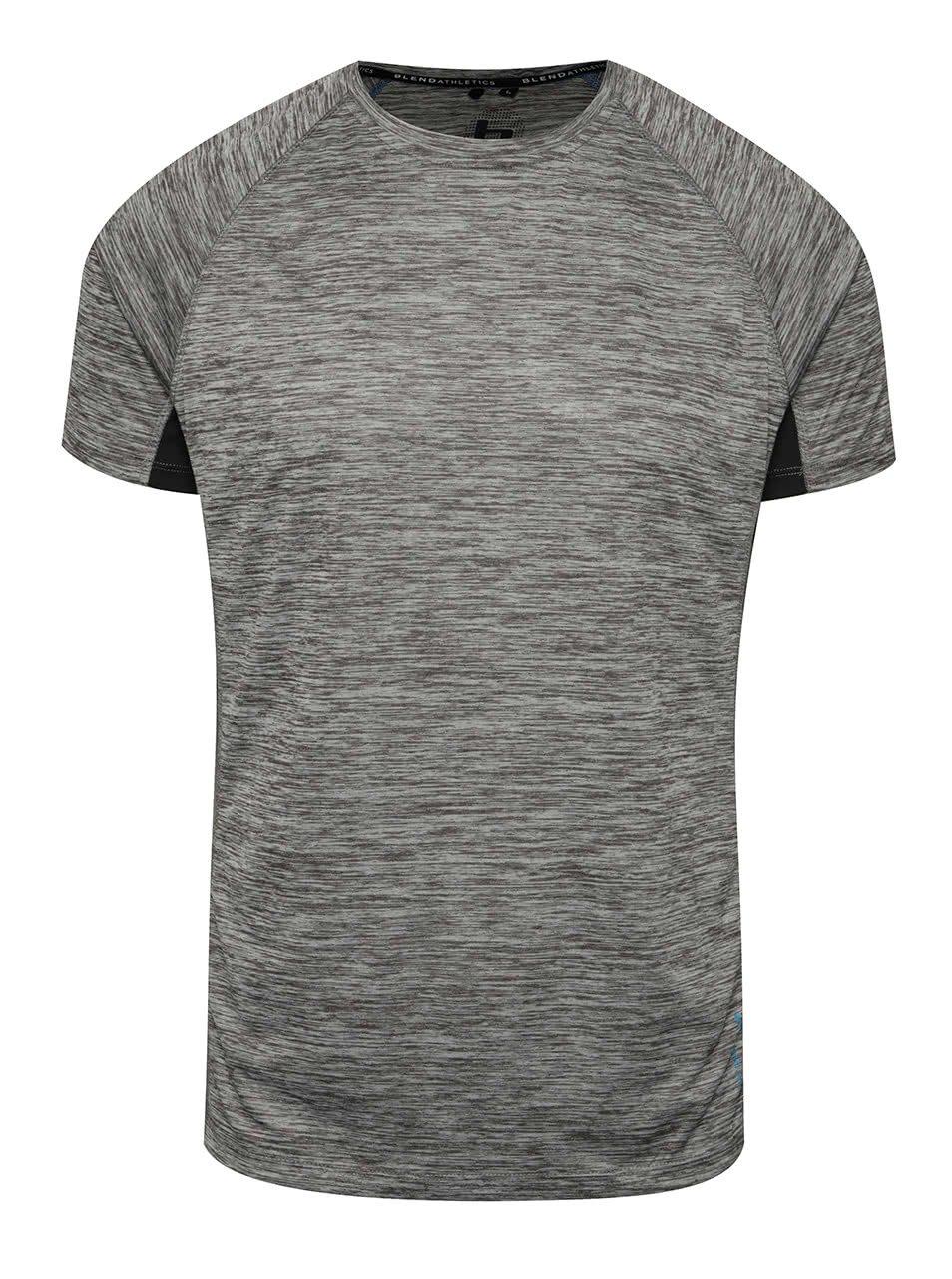 Šedé funkční triko Blend