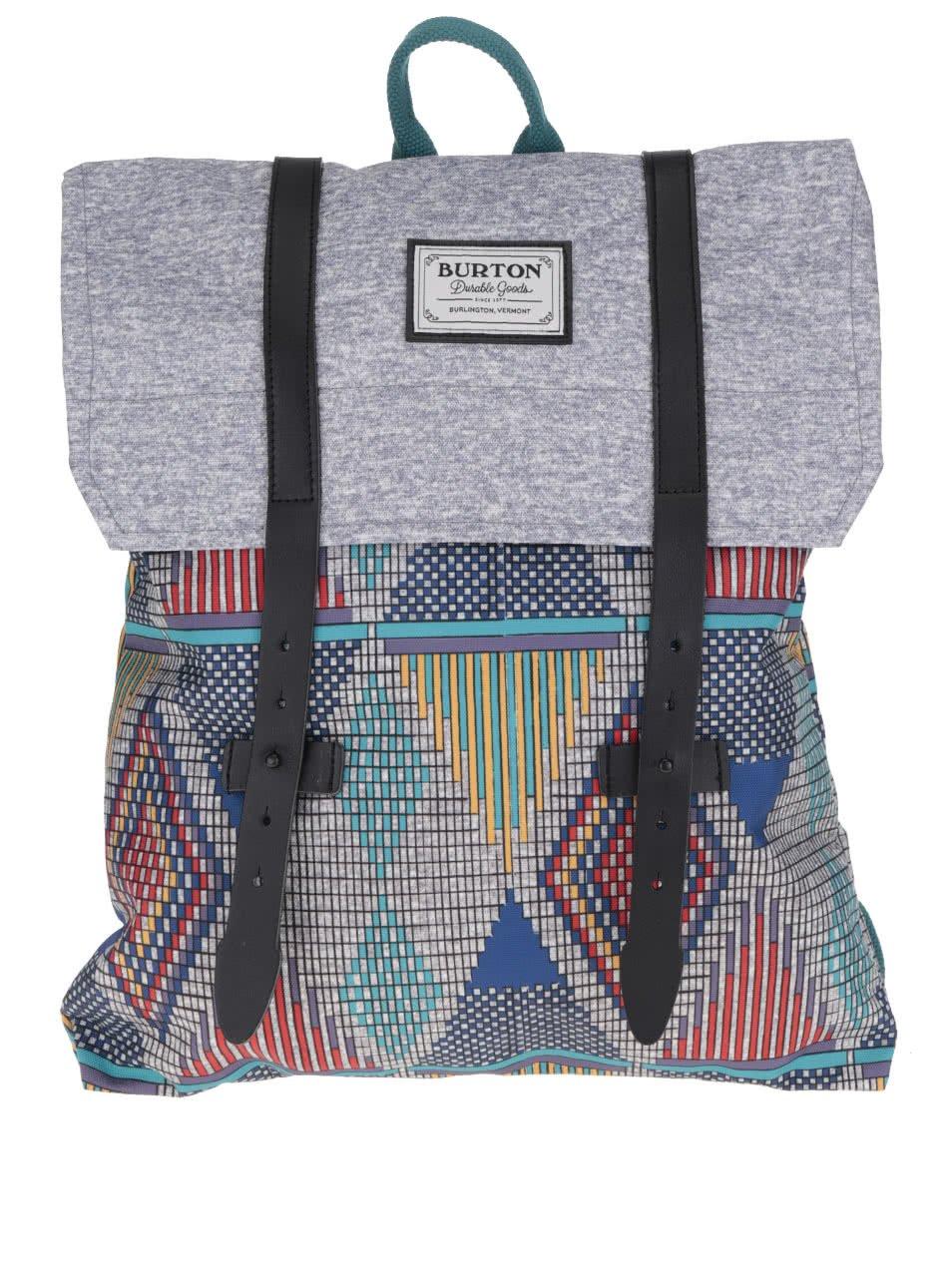 Farebný vzorovaný dámsky batoh Burton Taylor 13 l