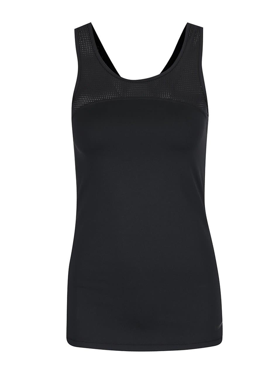 Černé dámské funkční tílko Nike Pro Hypercool
