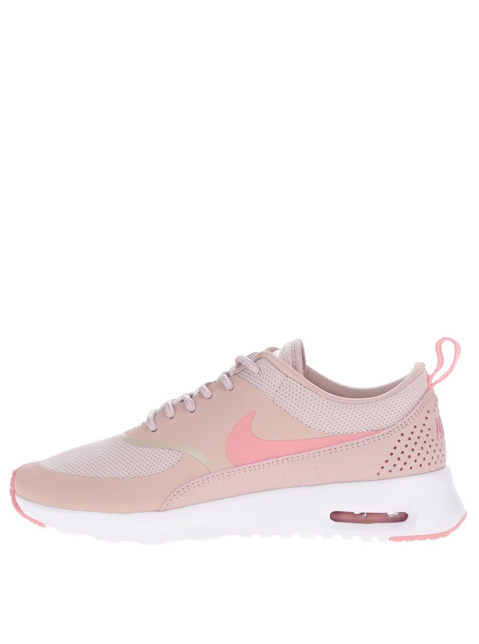 Světle růžové dámské tenisky Nike Air Max Thea