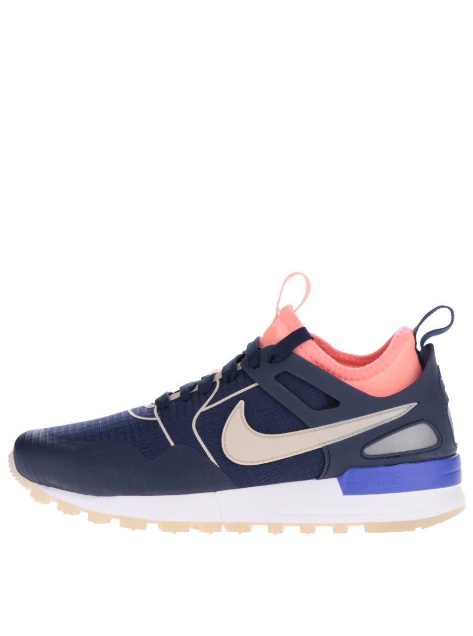 Oranžovo-modré dámské tenisky Nike Air Pegasus