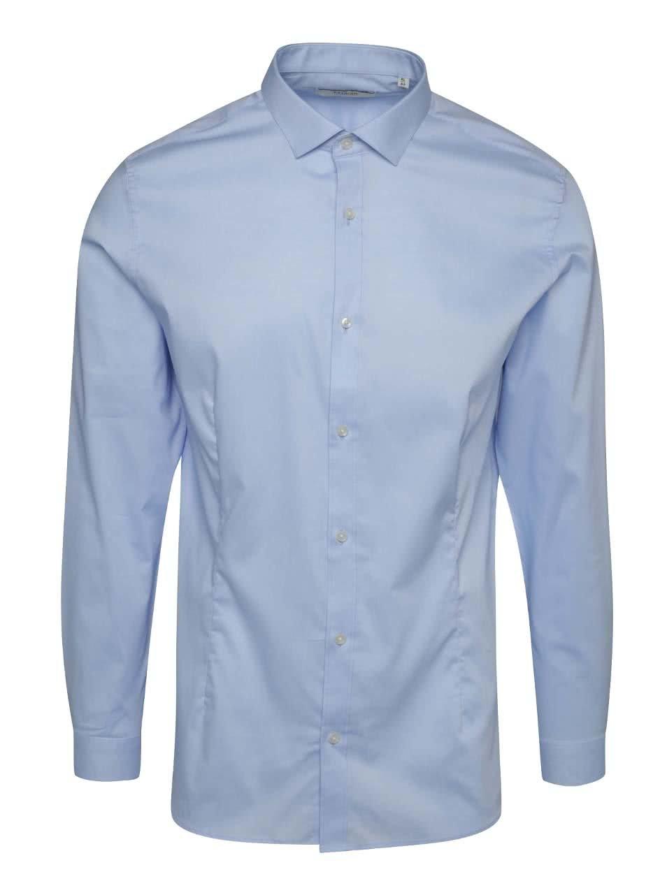 Světle modrá super slim fit košile Jack & Jones Parma