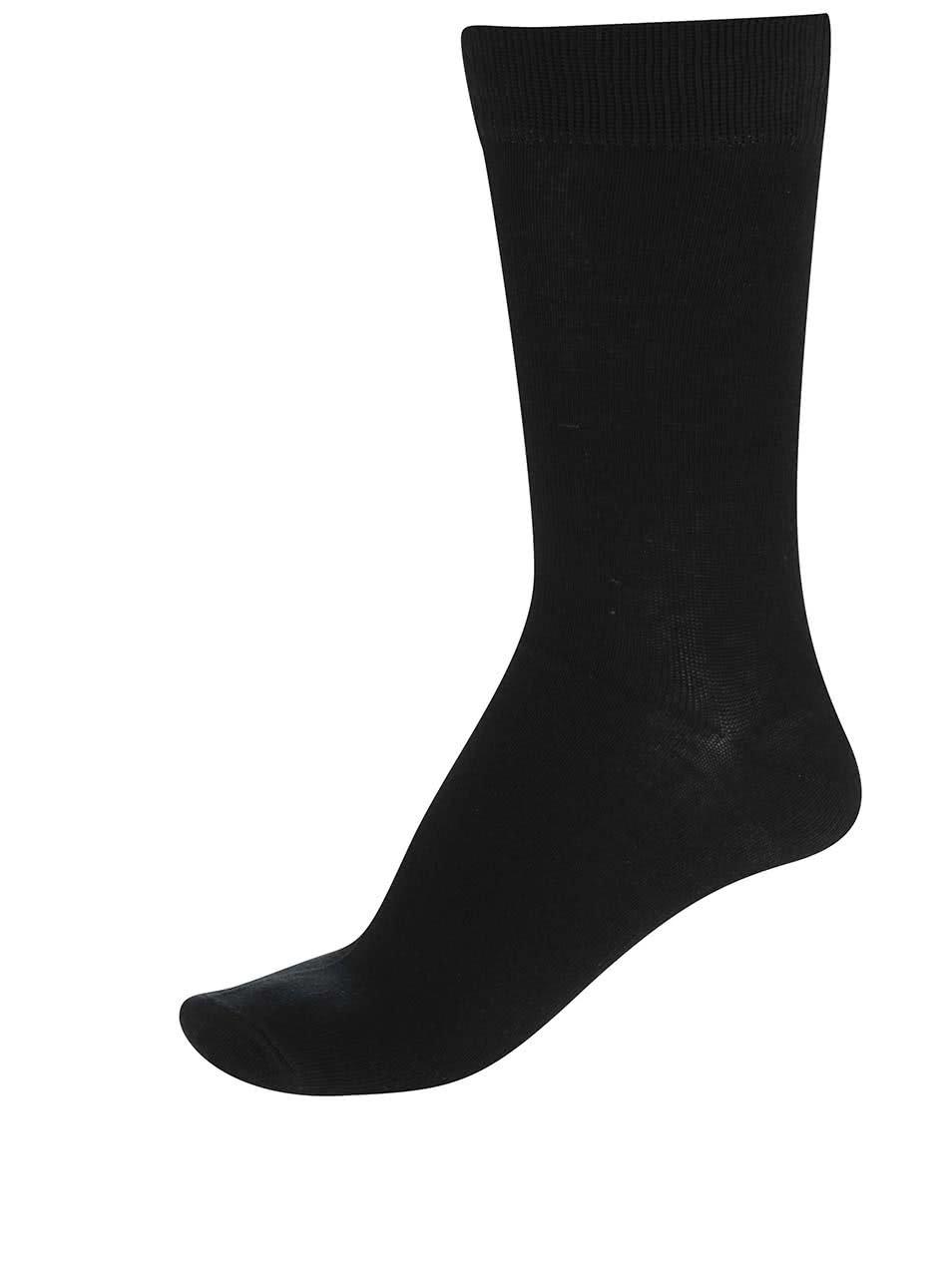 Černé pánské ponožky Bellinda Classic