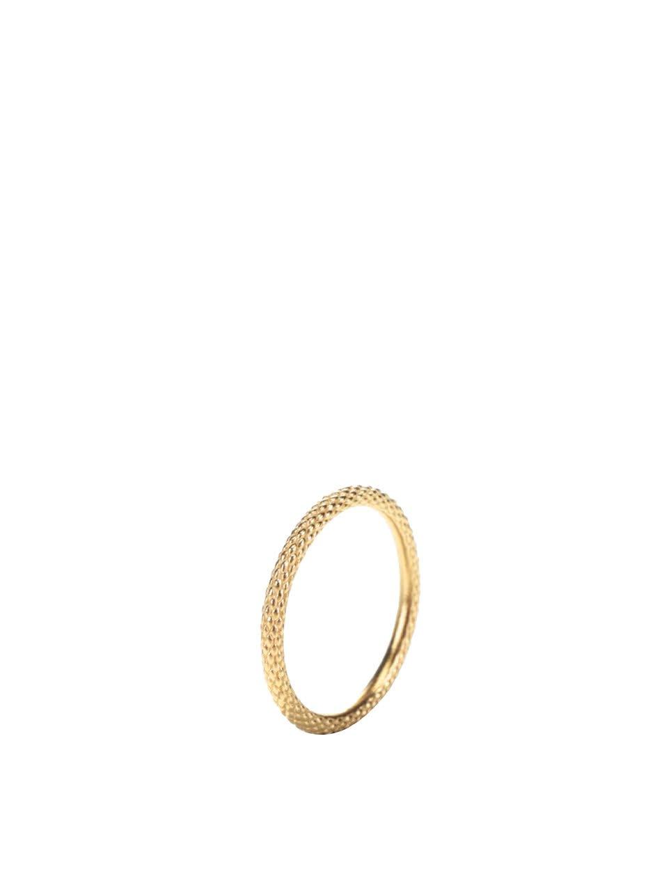 Zlatý prstýnek 22 karátů Pieces Jael
