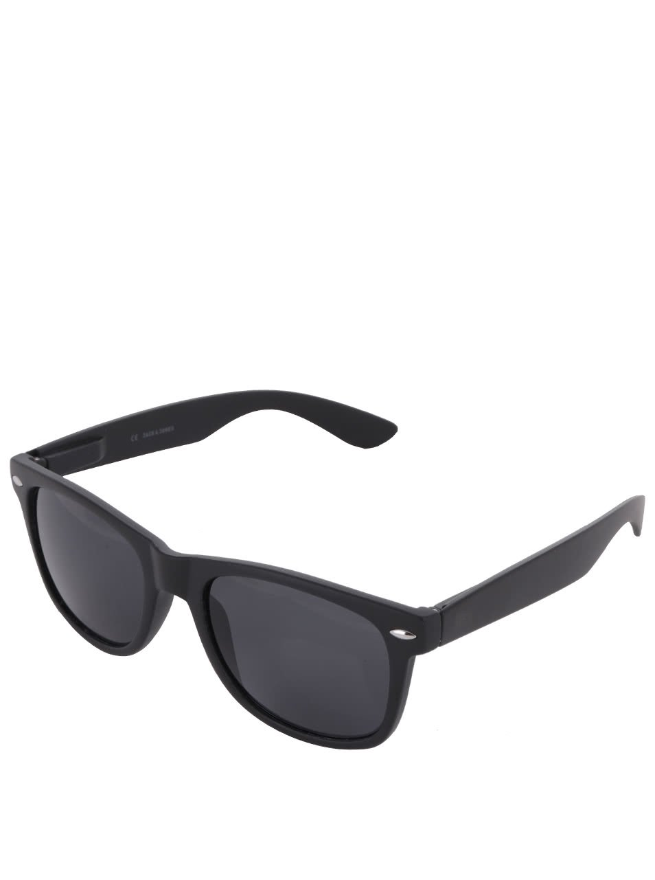 Černé sluneční brýle Jack & Jones Leo