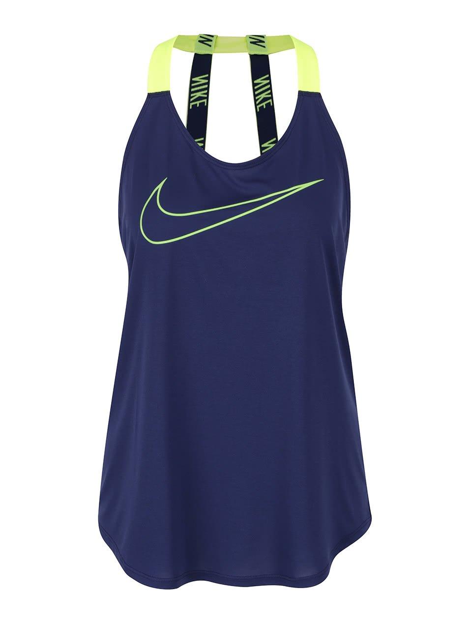 Tmavě modré dámské tílko Nike