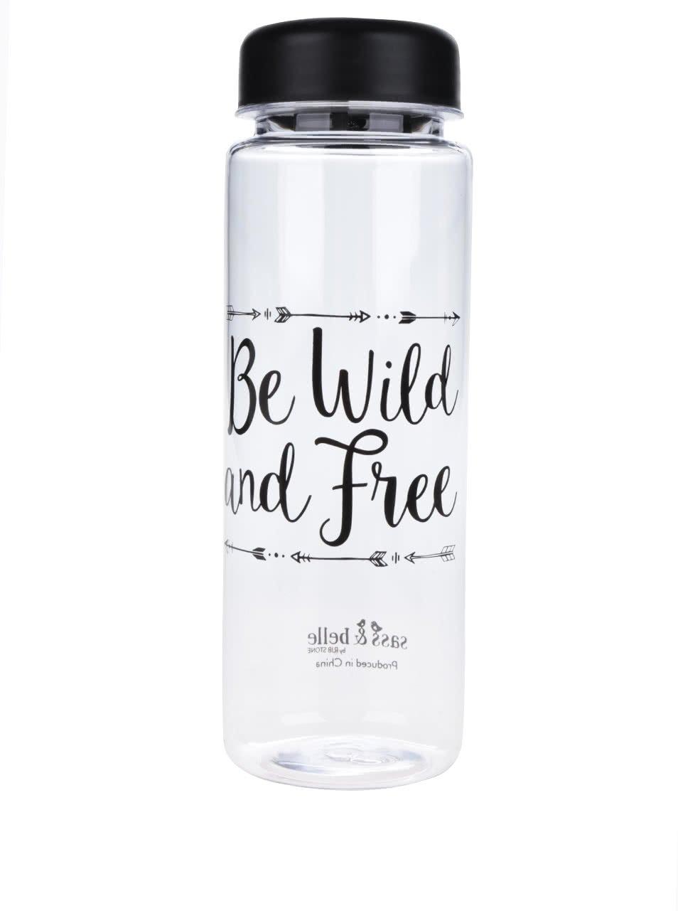 Plastová láhev na vodu s potiskem Sass & Belle