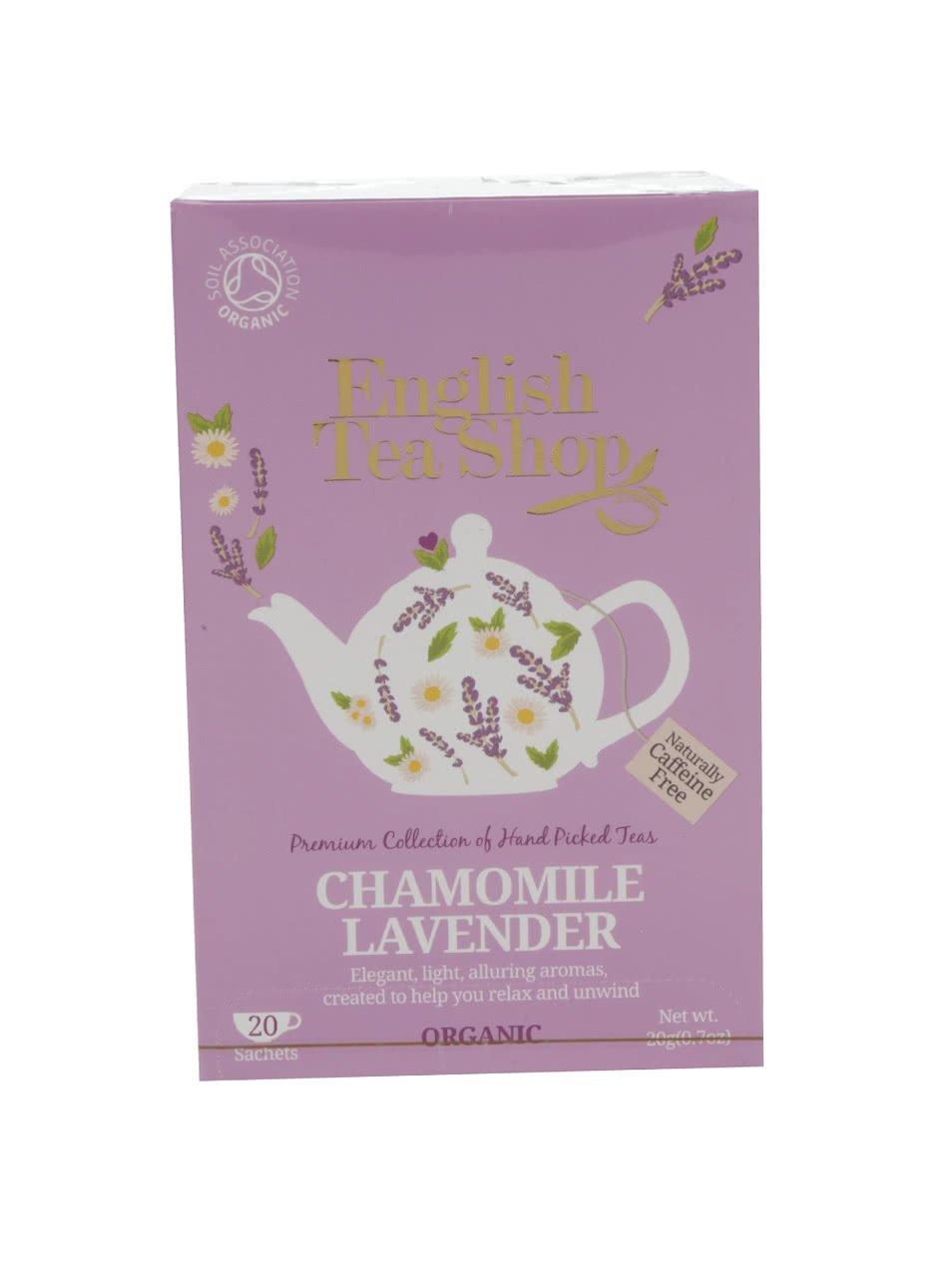Čaj English Tea Shop Levandule a Heřmánek Bio