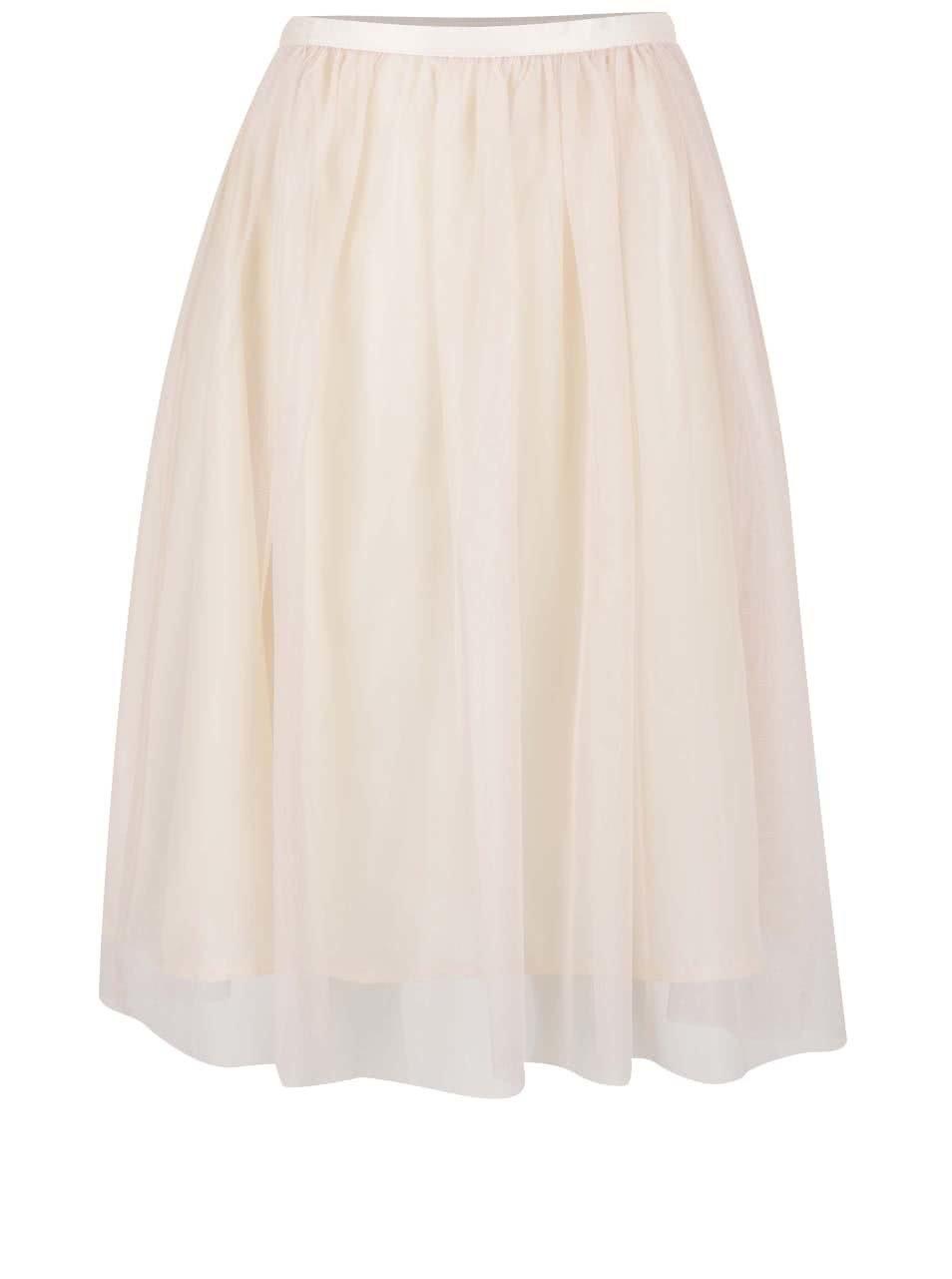 Krémová tylová sukně ZOOT