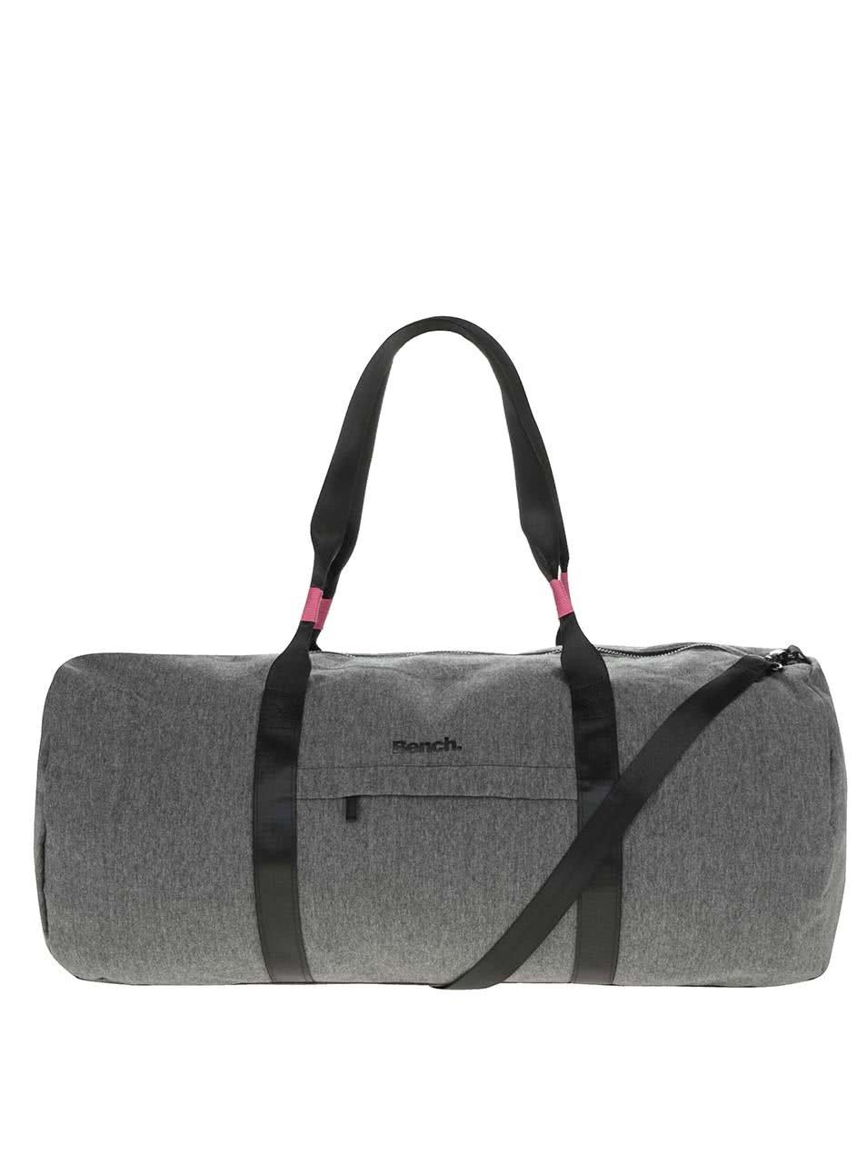 Šedá cestovní taška Bench