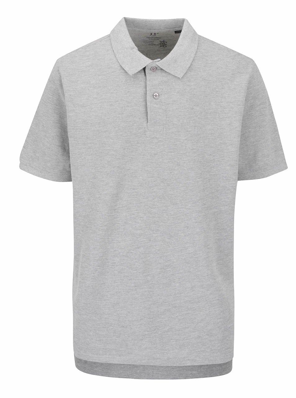 šedé polo tričko JP 1880