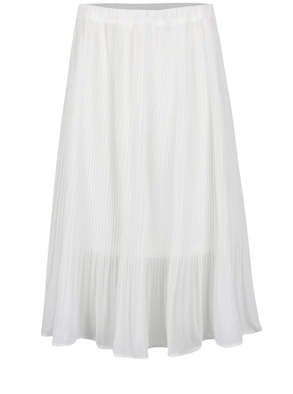 Krémová plisovaná sukně Broadway Dysis