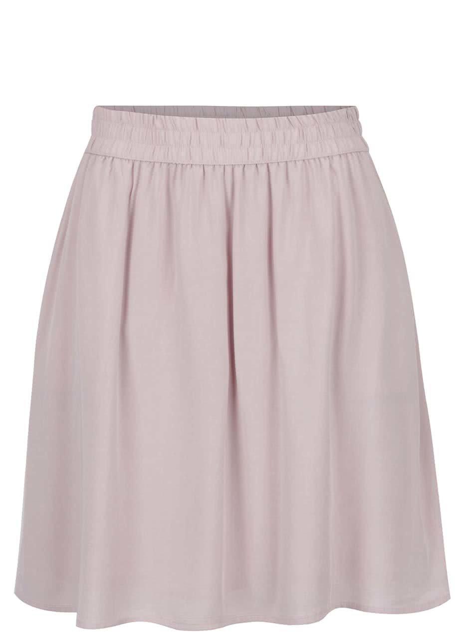 Světle růžová sukně s kapsami Broadway Diamond