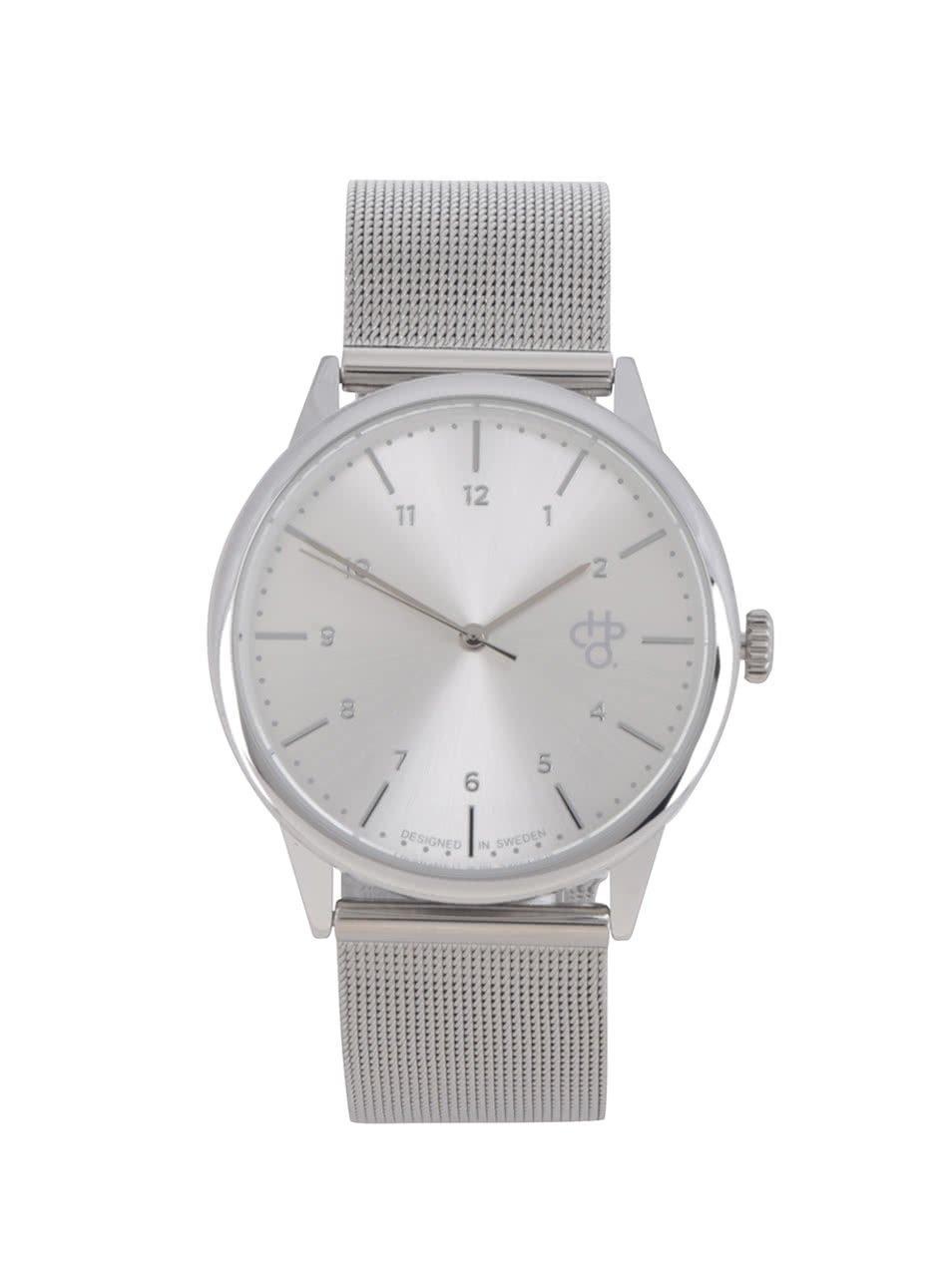 Dámske hodinky v striebornej farbe CHPO Rawiya 842170533e9