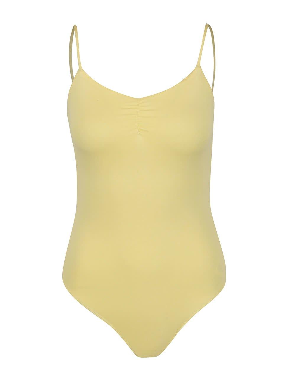 Žluté basic body TALLY WEiJL