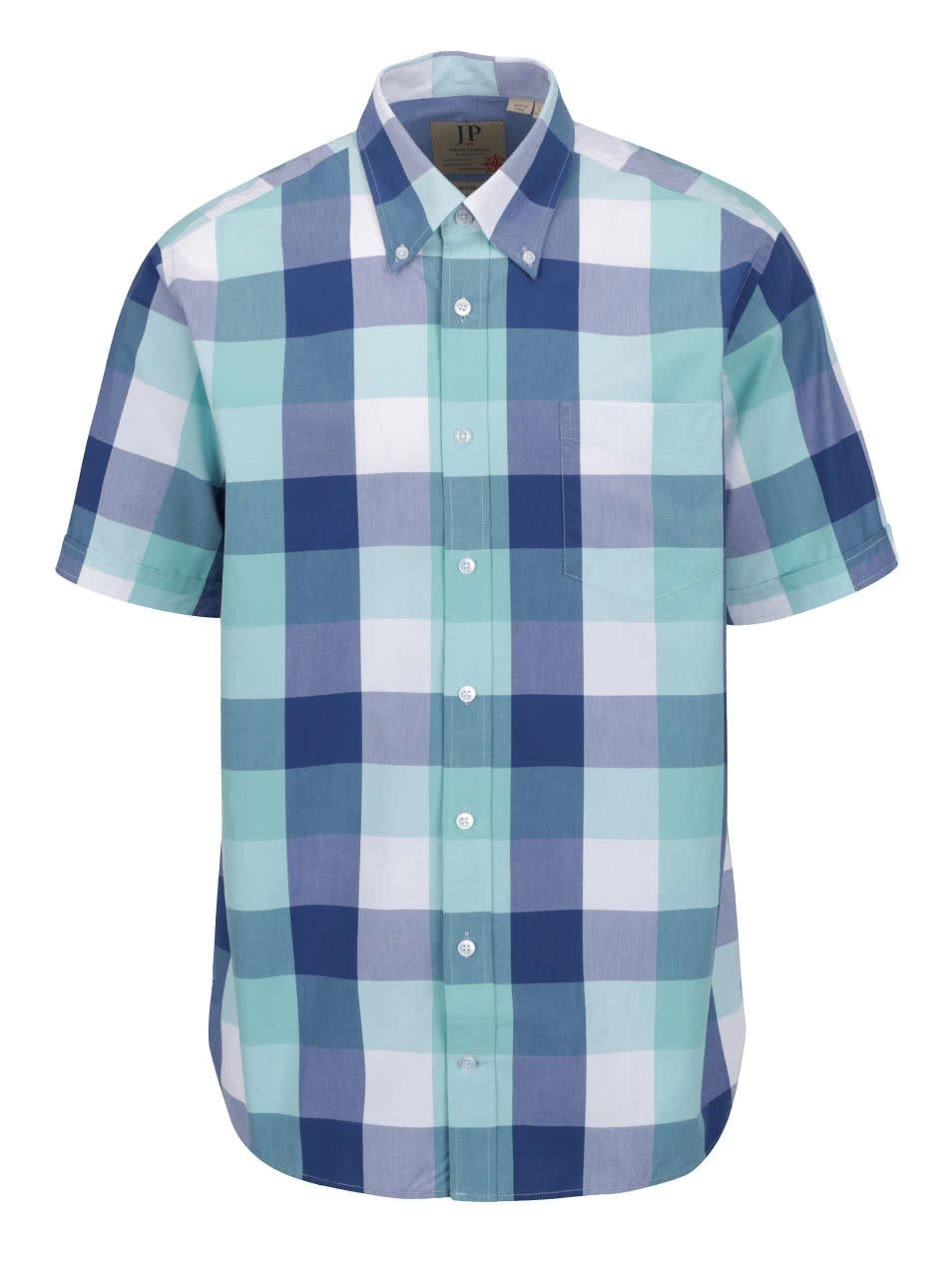 Zeleno-modrá kostkovaná košile JP 1880