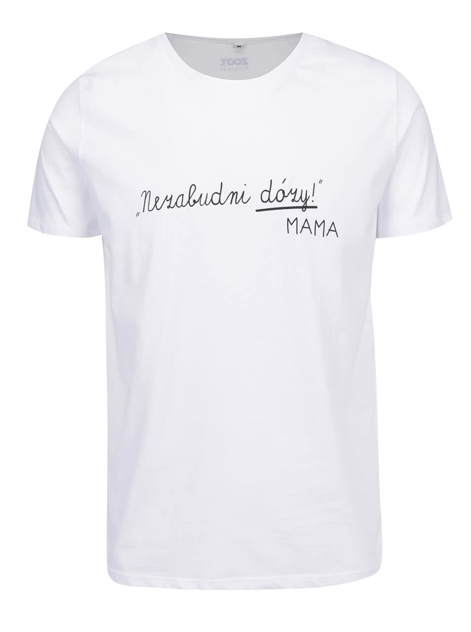 Bílé pánské triko ZOOT Originál Nezabudni na dózy