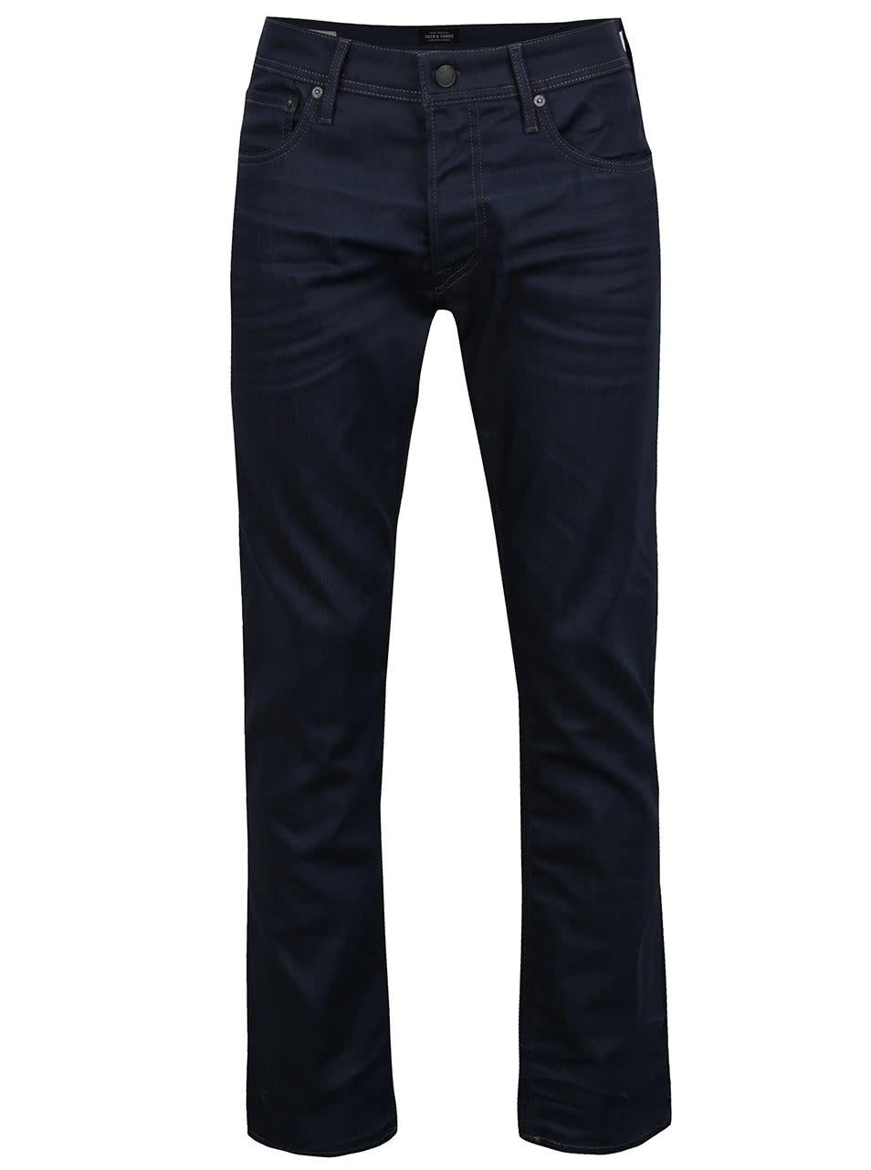 Tmavě modré džíny Jack & Jones Clark Original