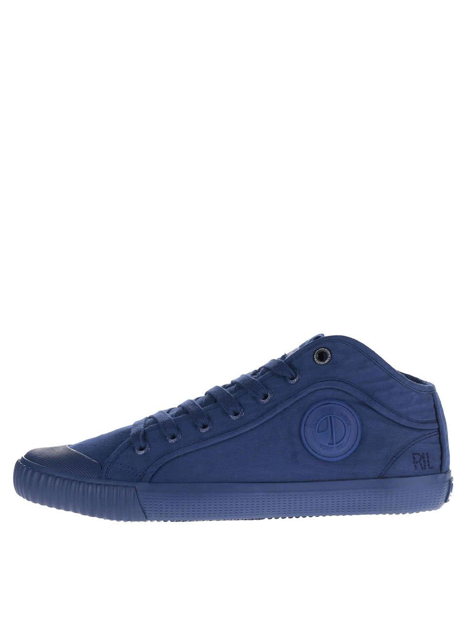 Modré pánské tenisky Pepe Jeans Industry Routes