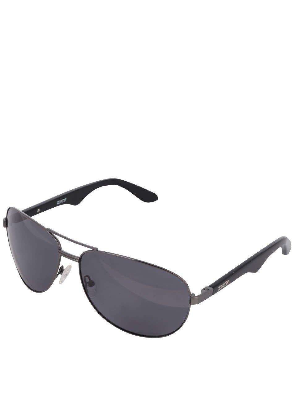 Šedé pánské sluneční brýle Dice