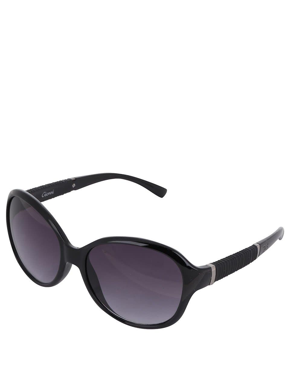 Černé dámské sluneční brýle Gionni
